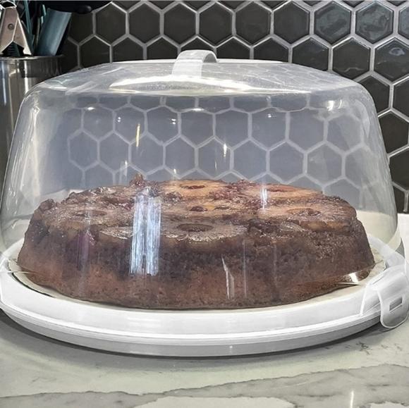 #BG Cake Carrier Cover Holder Travel Cupcake
